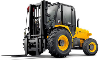 rough terrain forklift rental Detroit